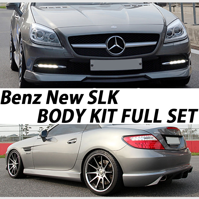 [ Benz New SLK auto parts ] Benz New SLK Body Kit Set(Front Lip+Side Skirt+Rear Diffuser)