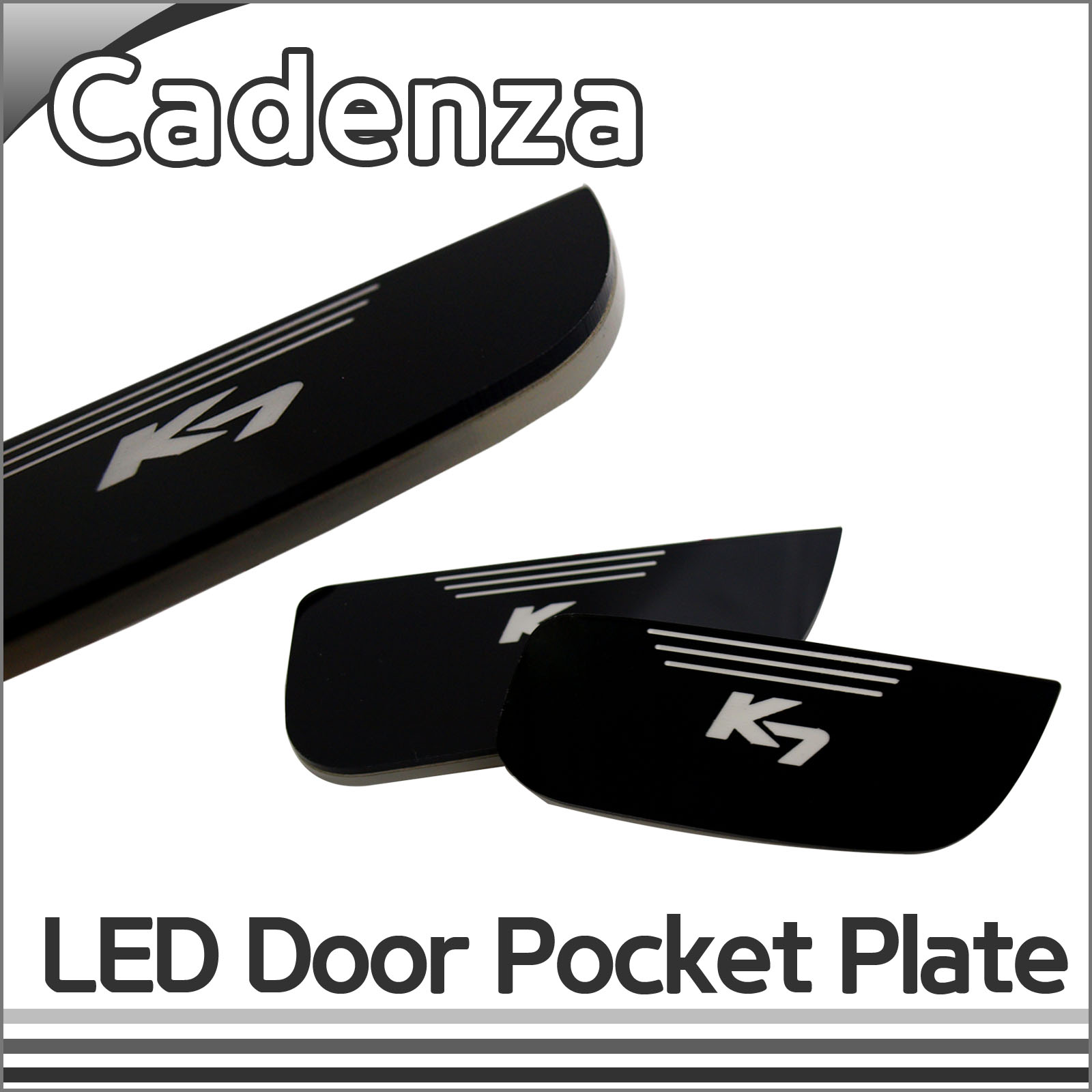 [ Cadenza(K7) auto parts ] Cadenza(K7) LED Door Pocket Plate