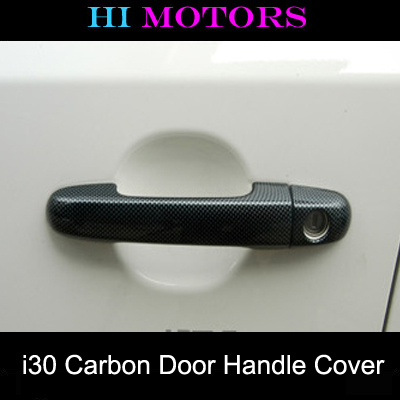 [ i30 auto parts ] Carbon Door Catch