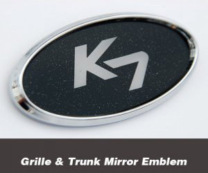 [ Cardenza2016(All New K7) auto parts ] Cardenza2016 Mirror Emblem(Grille & Trunk)