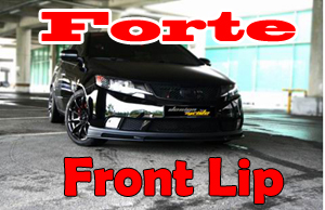 [ Forte Sedan(Cerato Sedan) auto parts ] Cerato Sedan Front Lip(Body Kit)