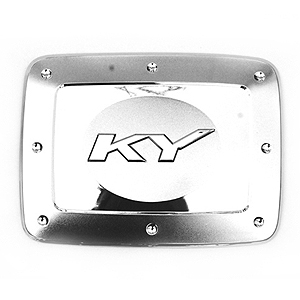 [ Kyron auto parts ] Chrome Fuel Cover  Made in Korea