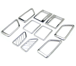 [ Getz (Click) auto parts ] Chrome interior molding sets