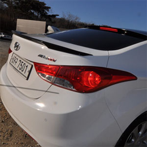 [ Elantra 2010~ (Avante MD) auto parts ] Elantra 2010~ (Avante MD) LED Glass Wing Spoiler
