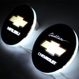 [ Malibu auto parts ] LED Emblem Plate  Made in Korea