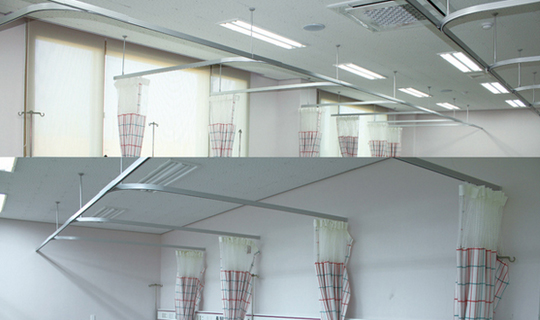 Medical Curtain Track System