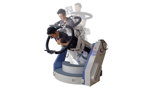 3D Spinal stabilization device computer system