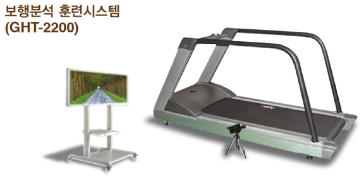 TREADMILL GAIT ANALYSIS EXERCISE SYSTEM  Made in Korea