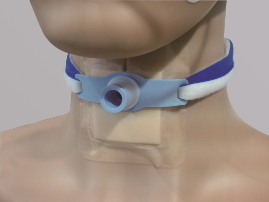 Tracheostomy Tube Holder  Made in Korea