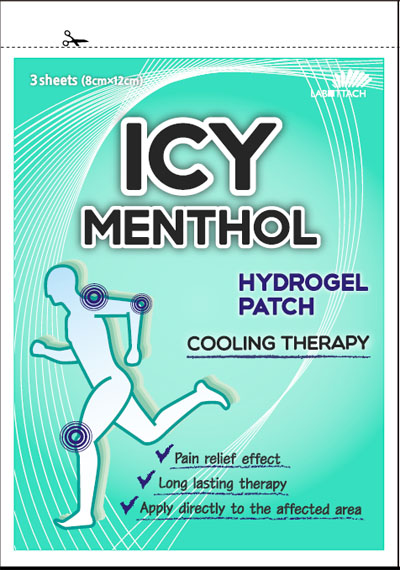 Icy Menthol patch  Made in Korea