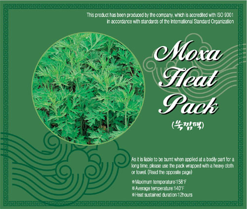 Moxa Herbal Hot Pack  Made in Korea