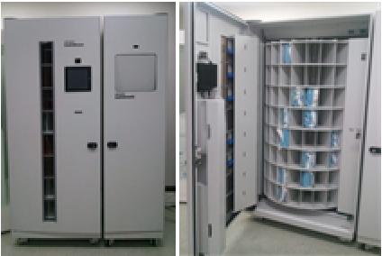 Scrub Suit Dispenser & Return Unit