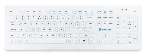 Wireless medical keyboard