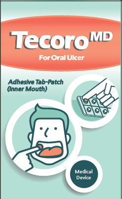 Mouth ulcer TAB-patch (Tecoro MD)