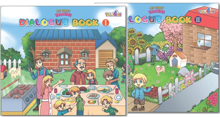 7.My First Talking Sentences Book-1&2_for ...  Made in Korea