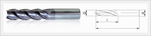 4F End Mill
