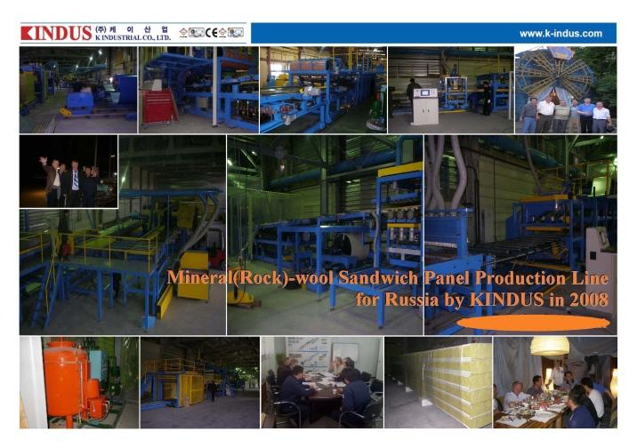 Sandwich Panel Manufacturer Usa : Mineral rock wool sandwich panel machine manufacturers