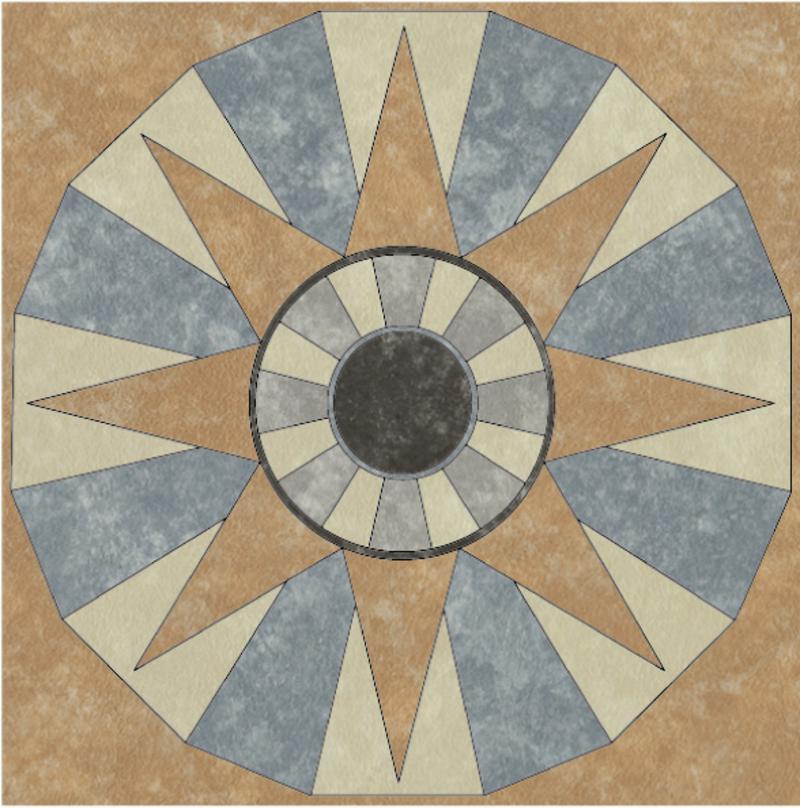 Laflor Pvc Vinyl Tile Flooring Mosaic Manufacturers
