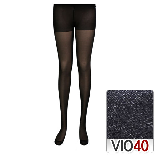 V40D transparent and highly elastic pants stockings