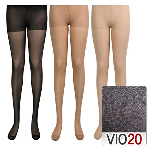 20D highly elastic transparent pants stockings  Made in Korea