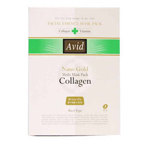 Avid Na-No Gold Collagen Mask Pack  Made in Korea