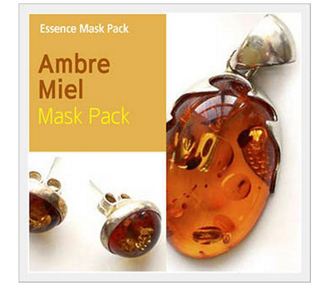 Essence Mask Pack -AMBRE MIEL  Made in Korea