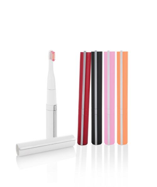 Portable sonic power toothbrush