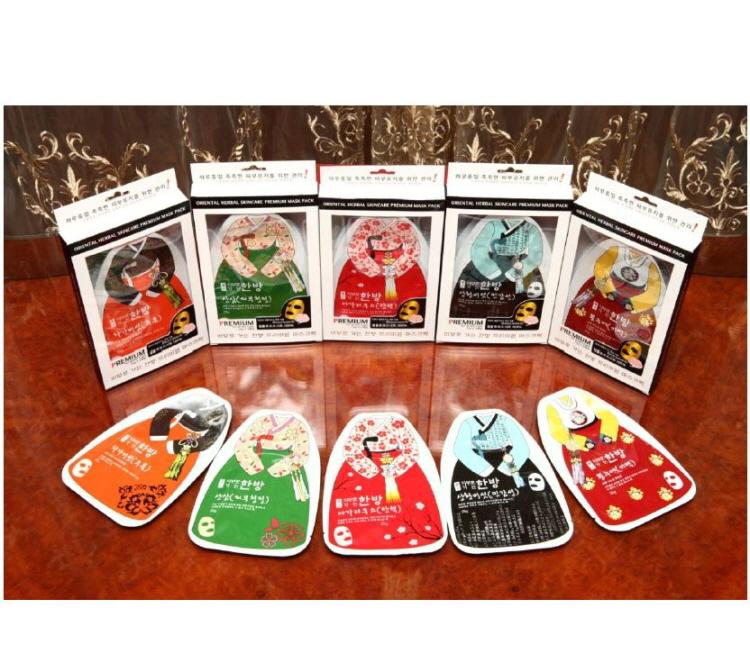 Oriental herbal skincare premium 5 type Manufacturers