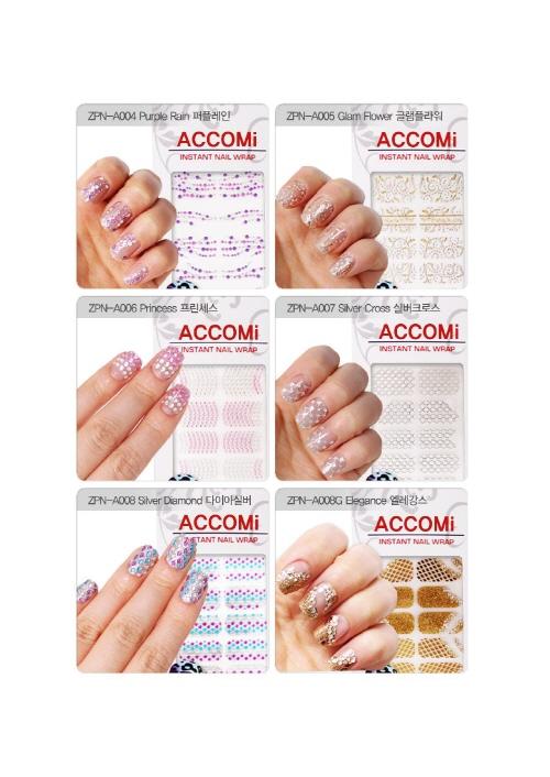 ACCOMi Nail Wrap  Made in Korea