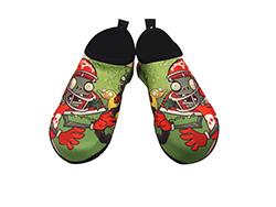 SKIN SHOES, aqua shoes, gyme shoes (Plants vs Zombies - Ducky Tube)  Made in Korea