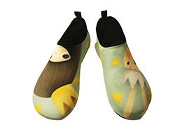 SKIN SHOES, aqua shoes, gym shoes (Echi - Crown)  Made in Korea