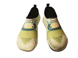 SKIN SHOES, Aqua shoes, gym shoes (Echi - Marine Cap)