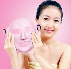 Acupoints .vibration. beauty mask
