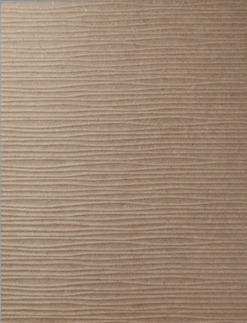 HS Wave and Embo Design Raw MDF panel
