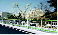 Guard Railing System for Children Protective Region  Made in Korea