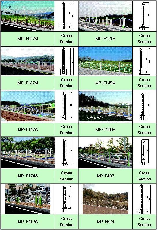 Designed Fence  Made in Korea