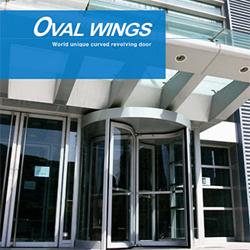 Revolving Door (Oval Wings)  Made in Korea