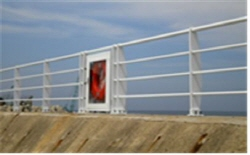 Seawall Safety Handrails  Made in Korea