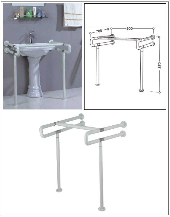 HANDLES FOR DISABLED (NYLON)  Made in Korea
