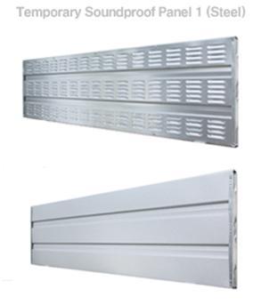Design sound proof board, steel sound proof board, plastic sound proof board, EGI fence