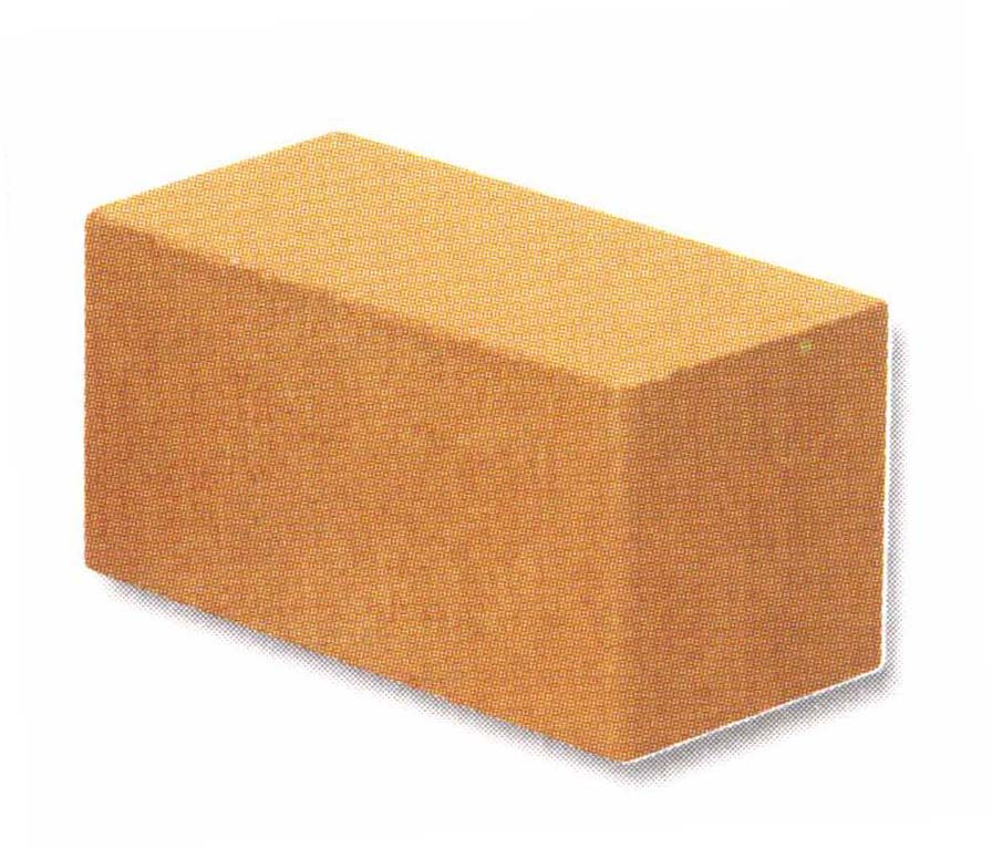 Traditional yellow soil brick (medium)