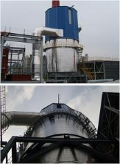 Gas Treatment for Biomass Boiler in Jeonju Paper  Made in Korea