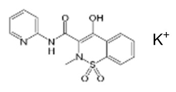Raw material/ Piroxicam potassium
