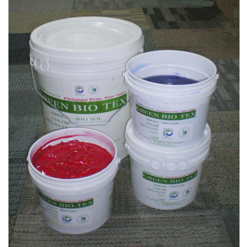 J.S Green Bio Plastisol Ink  Made in Korea