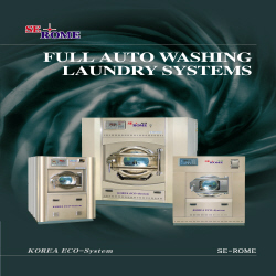 Washer Extractor  Made in Korea