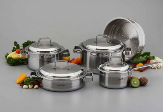 Cookware(3ply 9pcs Set)  Made in Korea