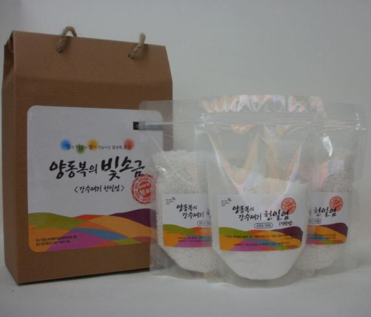 Bay salt  Made in Korea