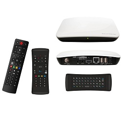 Android Satellite Hybrid Smart Box  Made in Korea