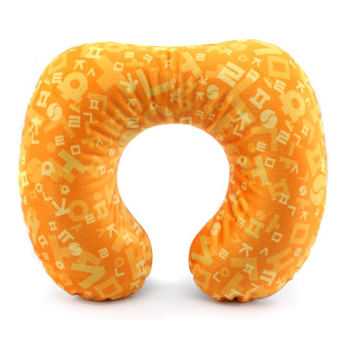 Inflatable/Air neck cushion /Pillows/Hangul/orange