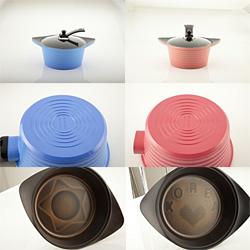 Hi-Class 3 D ceramic pot  Made in Korea